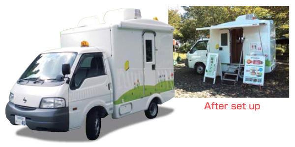 Bio-Toilet Car