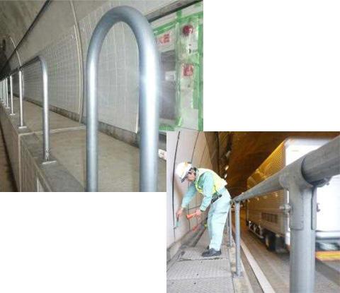 PT-type High Durability Handrail